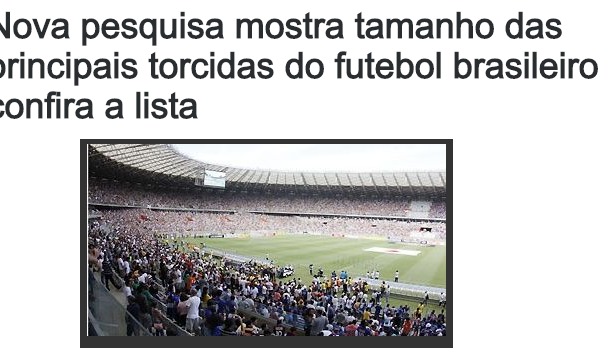 Com divulga pesquisa sobre os Times de Futebol ad5a5f1aaf18f