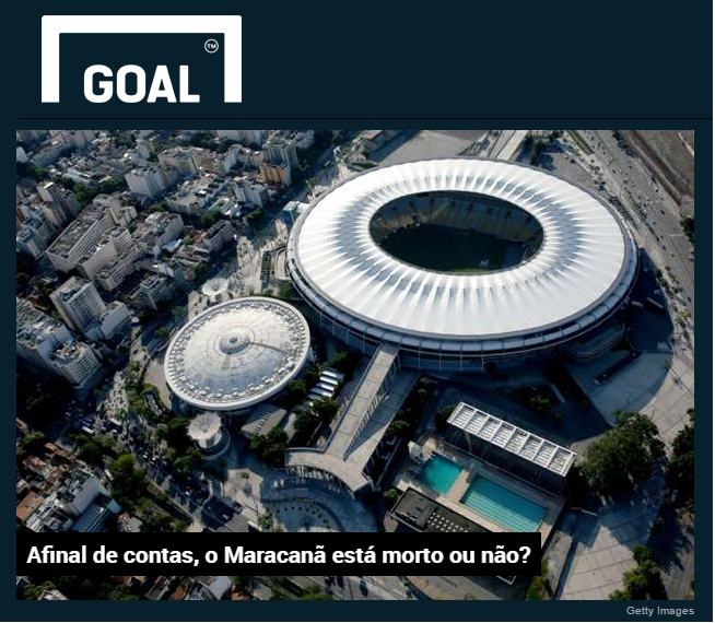 Site Goal.Com comenta sobre a pesquisa realizada com os Times de Futebol