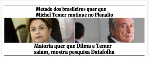 Blog MWD News, comenta pesquisa sobre a opinião dos Brasileiros para novas eleições Presidenciais
