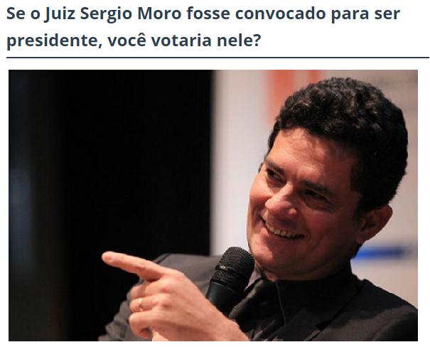 The Folha Edition, comenta pesquisa sobe a popularidade do Juiz Sérgio Moro