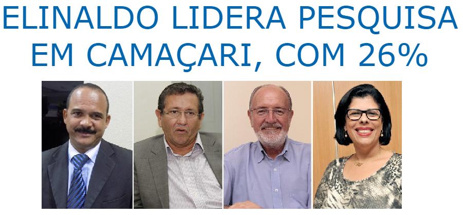 Brasil 247 divulga pesquisa sobre a disputa eleitoral a Prefeitura de Camaçari
