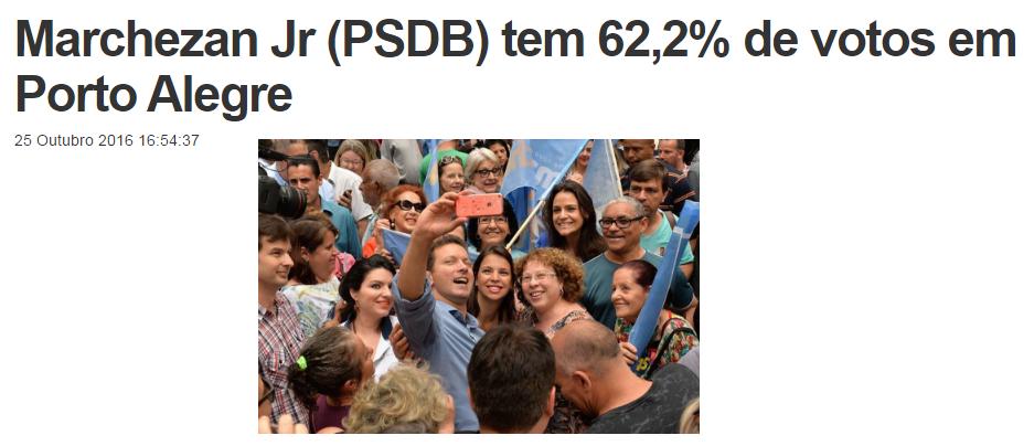 ADJORIBR – Jornais do Interior divulga pesquisa de 2º turno sobre a disputa eleitoral a Prefeitura de Porto Alegre – RS