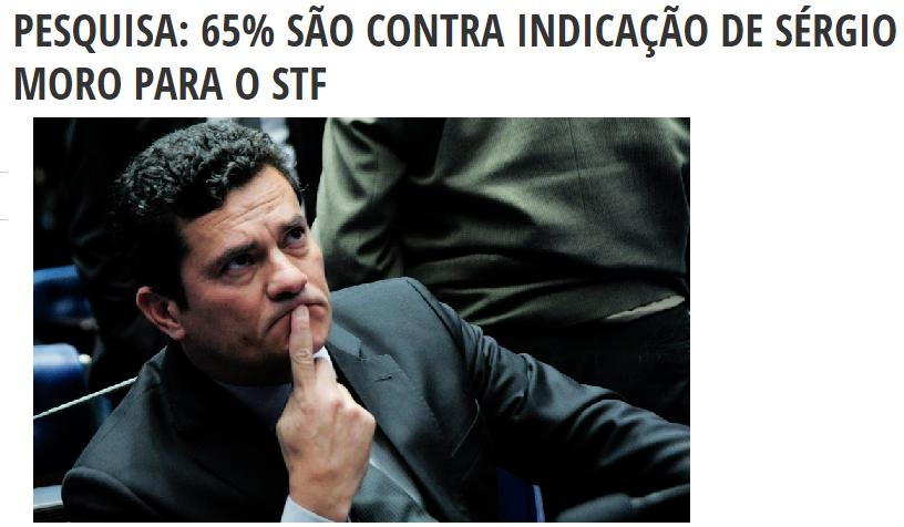 Diário do Poder divulga pesquisa com a opinião dos Brasileiros sobre a nomeação do substituto do Ministro do STF