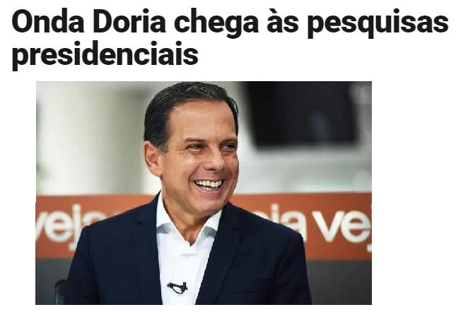 Veja.com – Radar On-Line divulga pesquisa com a opinião dos brasileiros sobre as eleições Presidencias em 2018