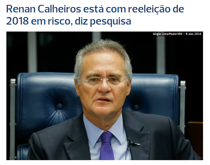 Poder 360 divulga pesquisa realizado em Alagoas sobre a disputa eleitoral para o Senado Federal