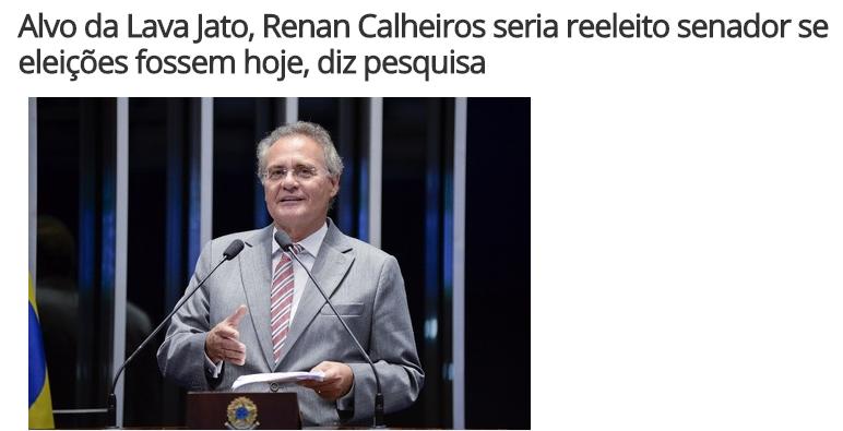 Portal R7 Notícias divulga pesquisa realizado em Alagoas sobre a disputa eleitoral para o Senado Federal