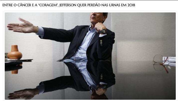 Jornal A Bigorna cita pesquisa realizada pela Paraná Pesquisas no Estado de São Paulo