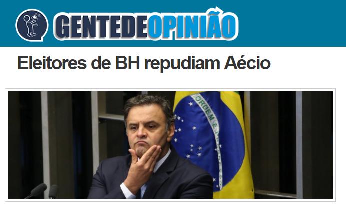 Gente de Opinião divulga pesquisa realizada no município de Belo Horizonte/ MG sobre a disputa eleitoral para Presidente do Brasil