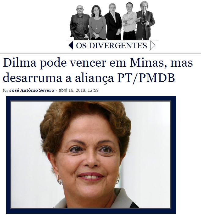 Os Divergentes cita em matéria pesquisa realizada pela Paraná Pesquisas