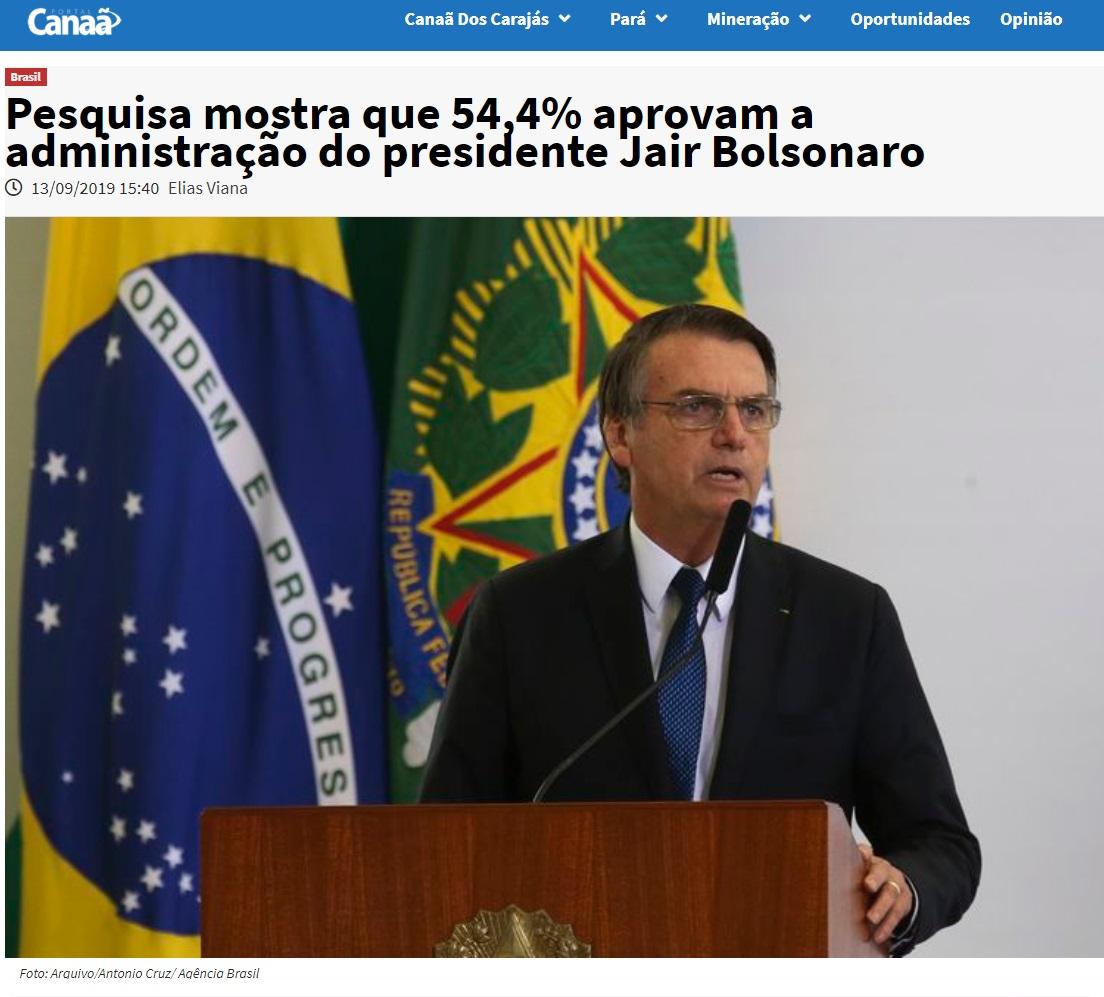 16-09-2019 Bolsonaro