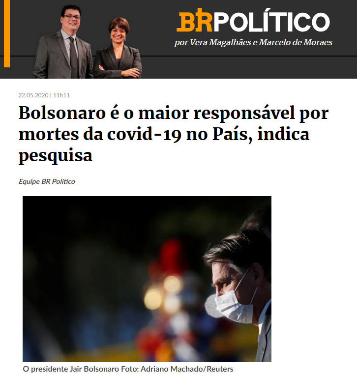 Estadão – BR18 divulga pesquisa realizado pela Paraná Pesquisas