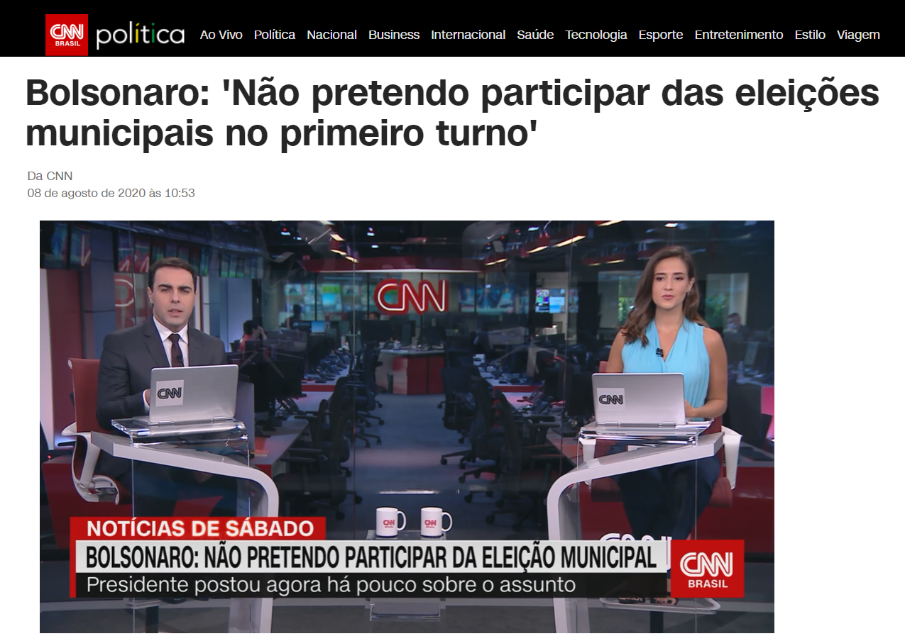 CNN Brasil cita matéria do Paraná Pesquisas